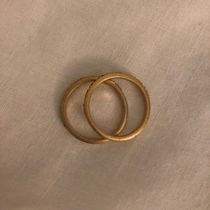 Madewell Gold Rings